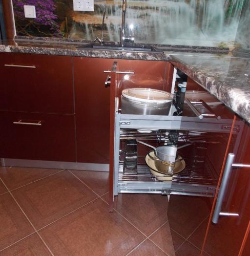 Акриловые кухни-Кухня из пластика «Модель 137»-фото11