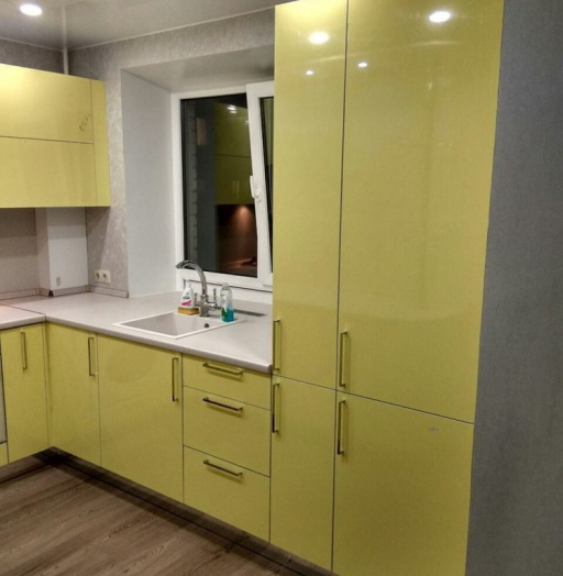 -Кухня МДФ в эмали «Модель 163»-фото2