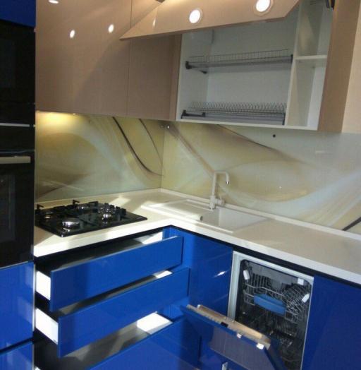 -Кухня МДФ в эмали «Модель 164»-фото23