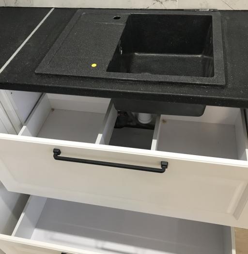 Белый кухонный гарнитур-Кухня МДФ в ПВХ «Модель 553»-фото16