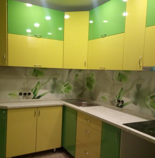 Встроенная кухня-Кухня МДФ в ПВХ «Модель 329»-фото7