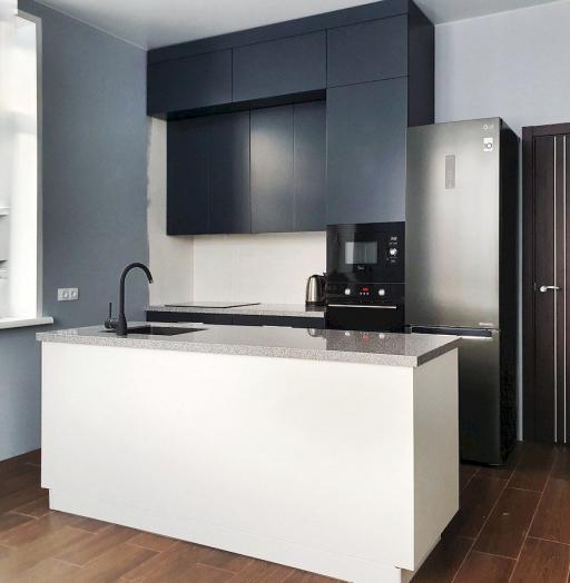 -Кухня МДФ в эмали «Модель 557»-фото13