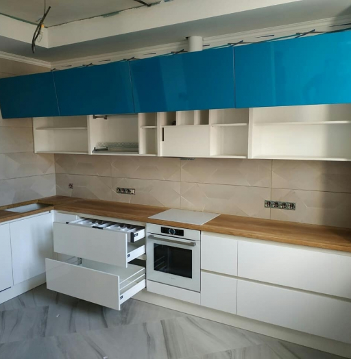 -Кухня МДФ в эмали «Модель 625»-фото22