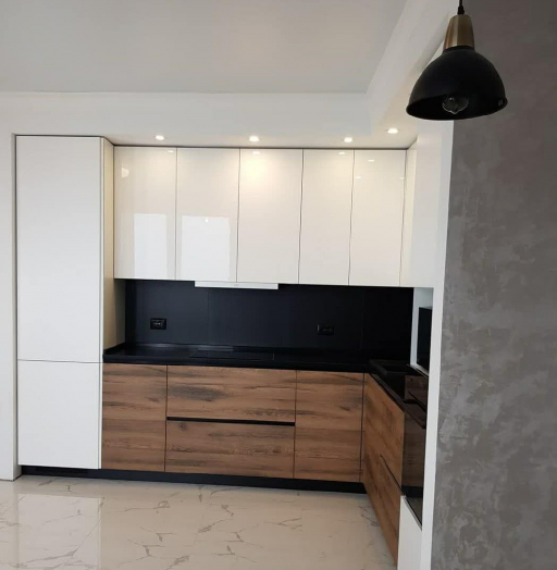 -Кухня МДФ в эмали «Модель 629»-фото27